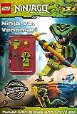 LEGO Ninjago: Ninja vs Venomari Activity Book with minifigure