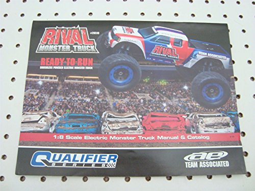 TEAM ASSOCIATED RIVAL MONSTER TRUCK OWNERS INSTRUCTION MANUAL