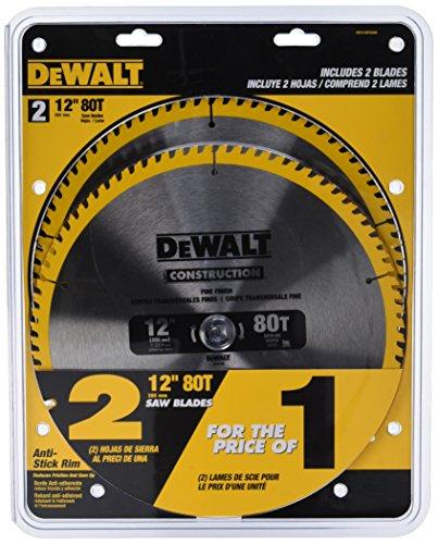 dewalt-dw3128p5d80i-series-20-12-inch-80t-circular-saw-blade-2-pack