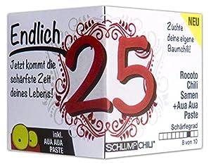 Geschenke zum 25 geburtstag f r frauen for Geschenk schwester 25