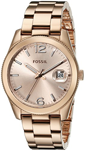 Fossil Fall 2014 es3587 39mm Rose Gold Steel Bracelet & Case Glass Women's Watch