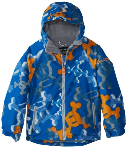 Paul Frank Boy's Skurvy Halftone Jacket, Royal, Large