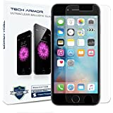 iPhone 6S Screen Protector, Tech Armor Apple iPhone 6 (4.7 inch ONLY) HD Clear Ballistic Glass - Maximize Resale Value - 99.99% Clarity and Touchscreen