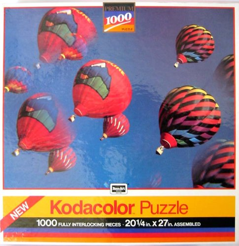 1000 Piece Kodacolor Puzzle- Hot Air Balloons