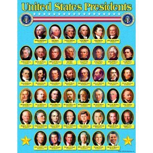 Us presidents chart memes for Pictures of all presidents of the united states in order