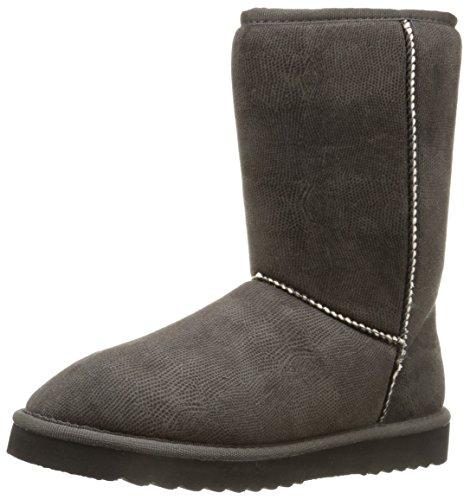 ESPRIT Uma Boot, Stivaletti a gamba media senza chiusura, imbottitura pesante donna, Nero (Nero (001 Black)), 41