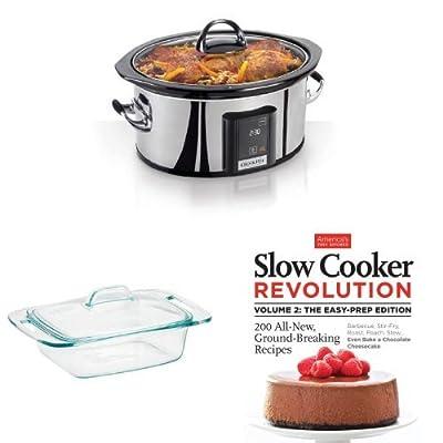 Slow Cooker Revolution Bundle: Cooker, Casserole and Cookbook