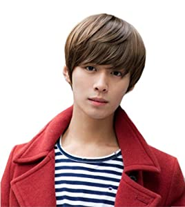 Handsome Men's Short Synthetic Hair Wig (Model: Jf010842) by Cool2day