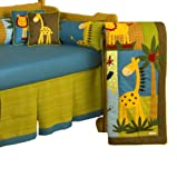 Cotton Tale Designs Paradise 4 Piece Crib Bedding Set