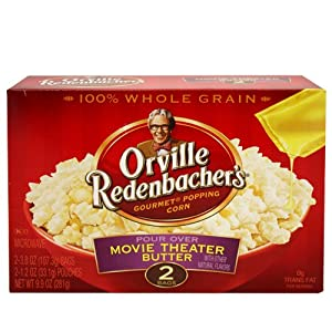 Orville Redenbacher Pour Over Movie Theater Popcorn 2ct - 6 Unit Pack