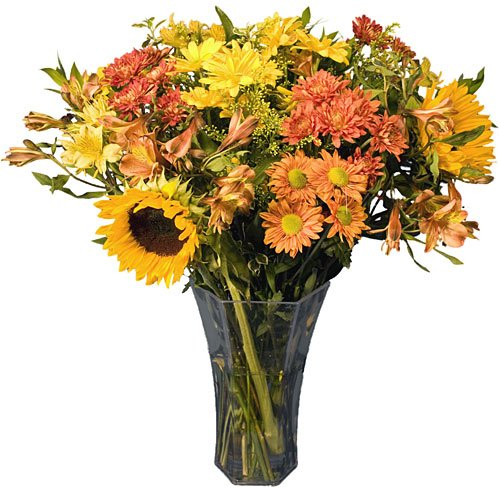 Autumn Flower Bouquet for Thanksgiving - Fast