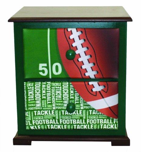 Cheap Newco Nightstand, Kids Football 50 Yard Line (B009S59QRG)