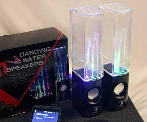 E-Passion Music Fountain Mini Amplifier Dancing Water Speakers I-station7 Apple Speakers (black, water speaker) 2016 antioxidant alkaline water ionizer wth 803