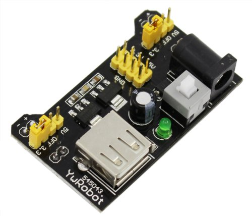 USPRO® 3.3V 5V Power Supply Module Solderless For MB102 Bread board