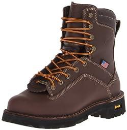 Danner Men\'s Quarry USA 8-Inch BR Work Boot,Brown,14 D US