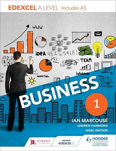 Edexcel Business A Level Year 1: Including AS