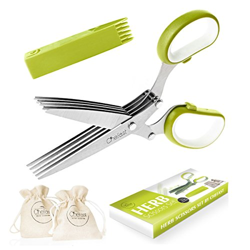 premium-herb-scissors-set-by-chefast-perfect-kitchen-gadget-for-food-lovers-includes-chopper-cutter-