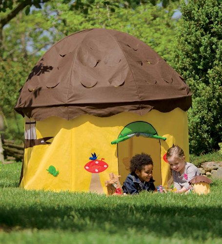 Child's Acorn Play Tent with Removable Roof
