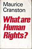 img - for What are human rights? book / textbook / text book