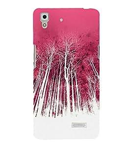 Colorful Forest 3D Hard Polycarbonate Designer Back Case Cover for Oppo R7 :: Oppo R7 Lite