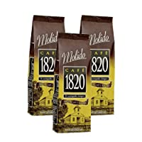 Cafe 1820 Molido - Costa Rica Gourmet Ground Premium Coffee - 17.6 oz (500 gr) 3 Pack