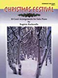 img - for Christmas Festival, Level 4: 10 Carol Arrangements for Solo Piano book / textbook / text book