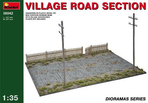 Mini Art Plastics Village Road Section
