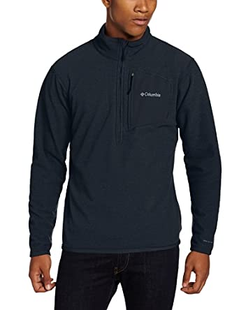 哥伦比亚Columbia Men's Scale Up Half Zip Fleece 男士抓绒外套Abys,$55.97