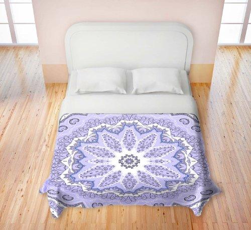 Purple Tie Dye Bedding 177230 front