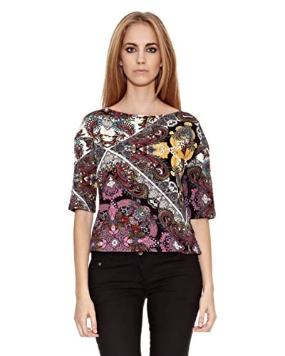 Aguamarina París T-shirt Alda [Multicolore]