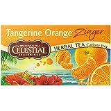 Celestial Seasonings Tangerine Orange Zinger Tea, 20 Count (Pack of 6)