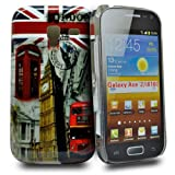 Accessory Master Hard Case for Samsung Galaxy Ace 2 i8160 London View Red