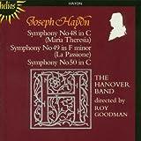 Symphonies N48, 49, 50