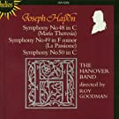 Joseph Haydn: Sinfonien Nr. 48-50