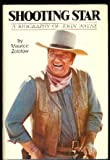 img - for Shooting Star Biography of John Wayne book / textbook / text book