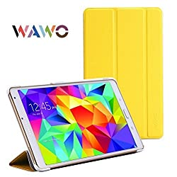 WAWO Samsung Tablet Fold Case (For Galaxy Tab S 8.4, Yellow)