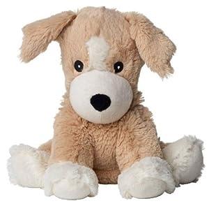 Greenlife - Perro de peluche para calentar en microondas (aroma de lavanda)