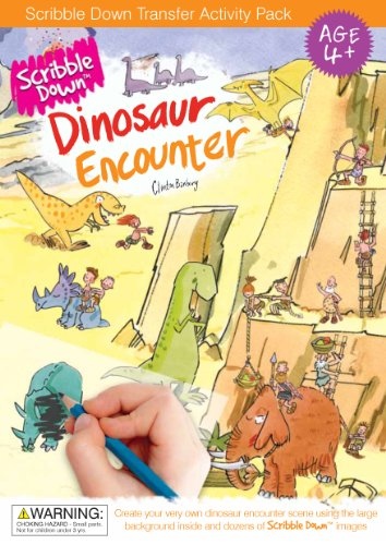 Scribble Down Dinosaur Encounter Transfer Activity Packs