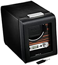 Wolf Designs 457056 Roadster Collection Module 2.7 Single Watch Winder with Cover