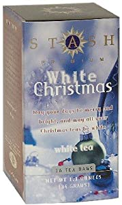 Stash Tea Holiday Teas - White Christmas White Tea 18 tea bags (Pack of 2)