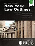 img - for Pieper Bar Review: New York Law Outlines, 18th Edition (2014) book / textbook / text book