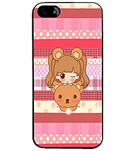 PrintDhaba Cartoon D-4254 Back Case Cover for APPLE IPHONE 4S (Multi-Coloured)