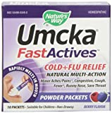 Nature's Way Umcka Fastactives Berry Cold+Flu, 10-Count