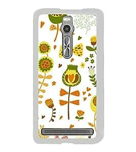ifasho Designer Phone Back Case Cover Asus Zenfone 2 ZE551ML ( Colorful Pattern Design )