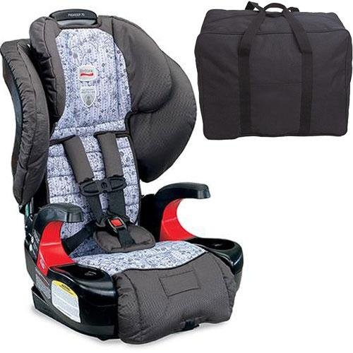 Britax Pioneer 70 Harness-2-Booster Car Seat - Gardengate With Carrying Case front-657868