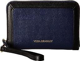 Vera Bradley Women\'s Grab & Go Wristlet Classic Navy Clutch