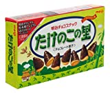 Meiji - Takenoko No Sato (Chocolate Coated Bamboo Shoot Shaped Cookies) 2.96 Oz.