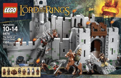 LEGO The Lord of the Rings 9474 The Battle of Helm's Deep Amazon.com
