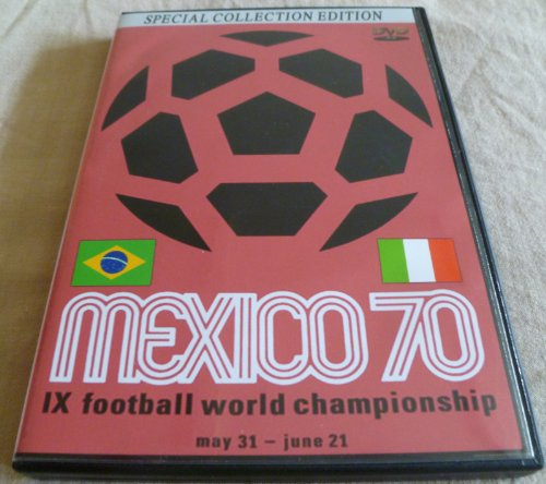World Cup 1970 DVD Mexico Final Brazil vs Italy [IMPORT] [ENGLISH] soccer futbol 70