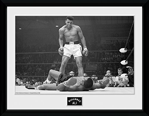 GB eye LTD, Muhammad Ali, Liston, Foto incorniciata, 40 x 30 cm